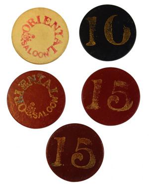 Antique casino chips orleans casino/las vegas
