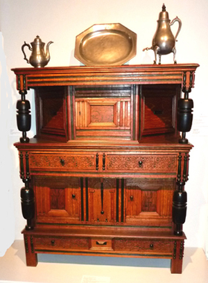 This Court Cupboard Was Made Circa 1680 1690. Fred Taylor Photo.