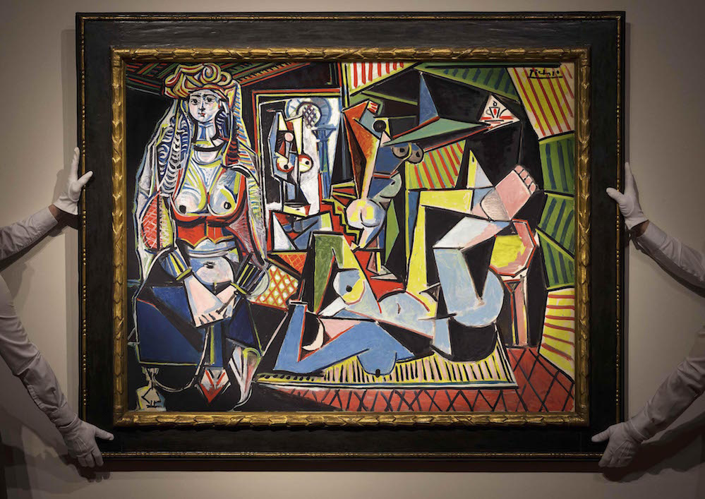 les femmes du0027alger an oil on canvas painted by picasso on feb