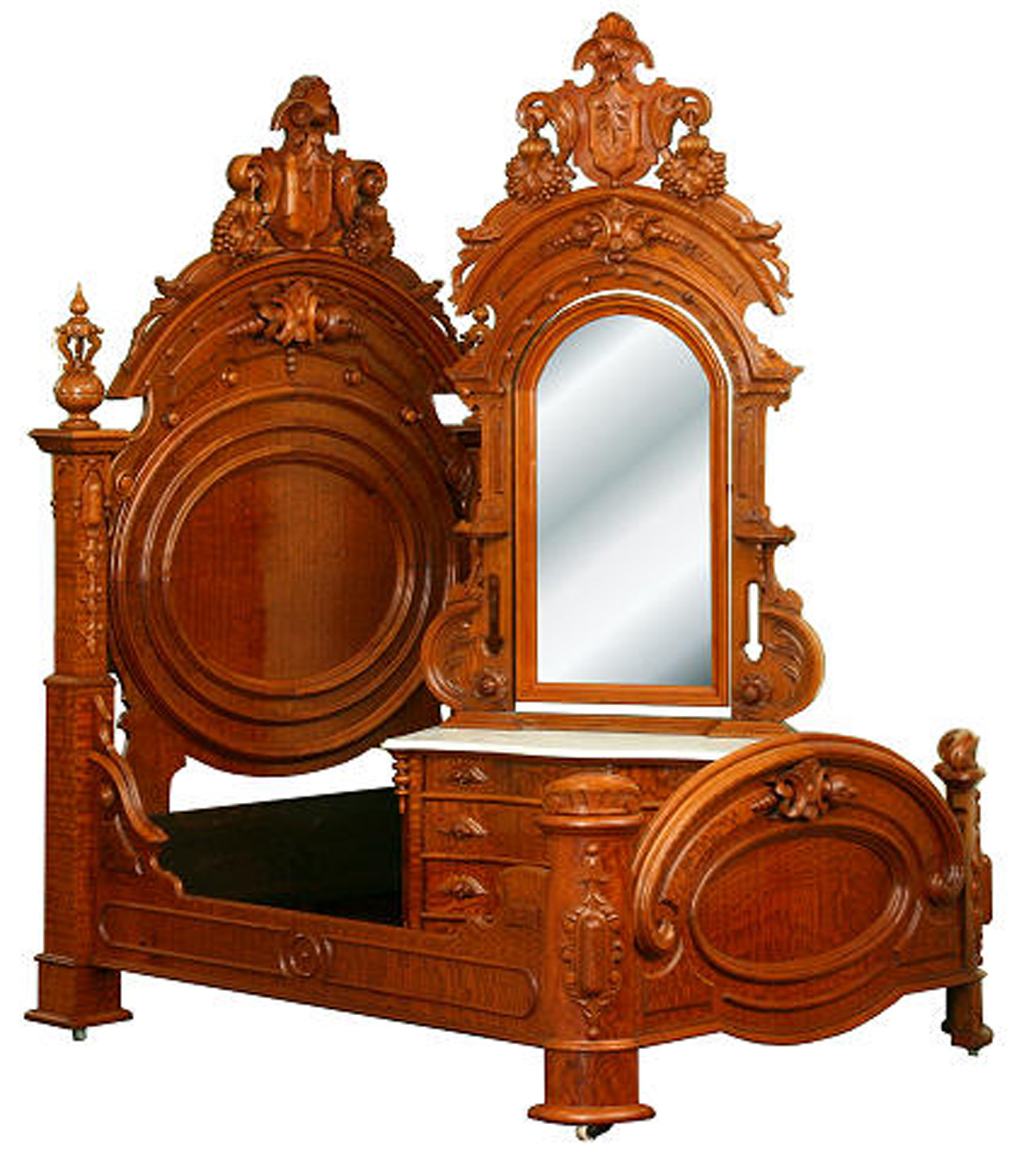 Attractive ... 1850s As A Counter Balance To The Flowery Rococo Revival, Renaissance  Revival Borrowed Elements From Just About Every Furniture Period Since The  1400s.