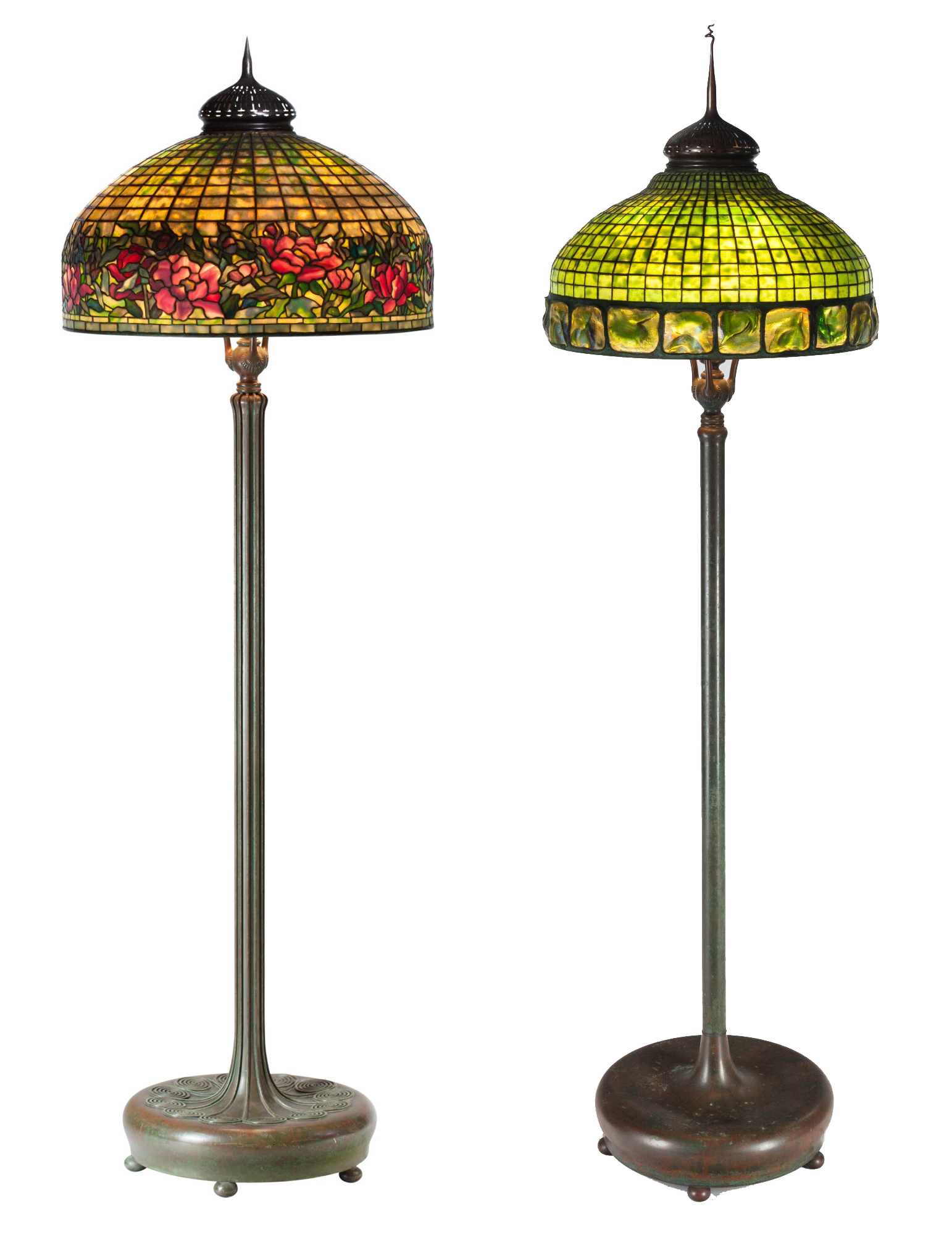 Tiffany lamps light up $2 37M fine & decorative arts sale at Heritage