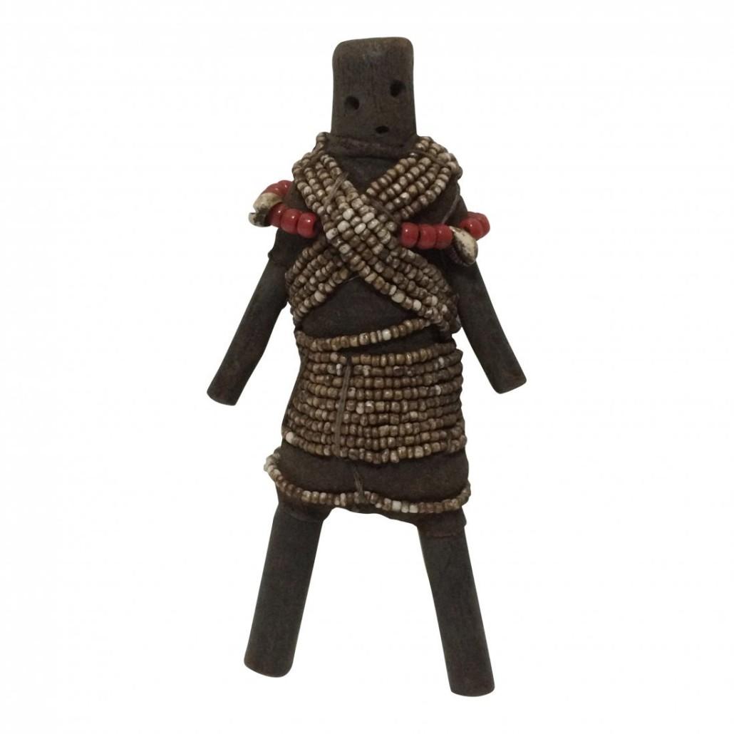 Carved wood Namji doll, est. $200-$300. Jasper52 image