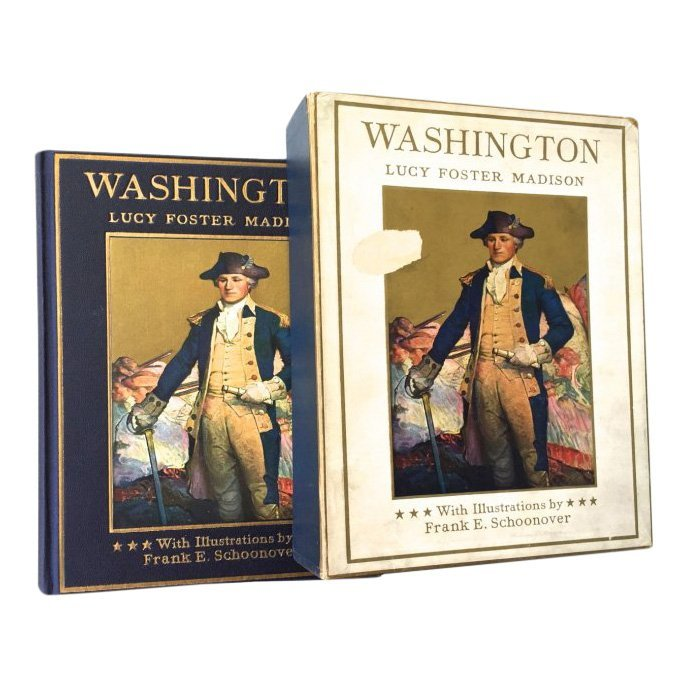 'Washington' by Lucy Foster Madison, illustrated by Francis E. Schoonover, first edition, 1925. Estimate: 150-$200. Jasper52 image