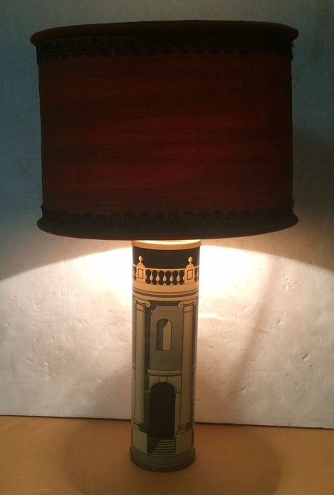 Piero Fornasetti Table Lamp With Original Shade, Circa 1960. Estimate:  U20ac700 U20ac800. Nova Ars Image
