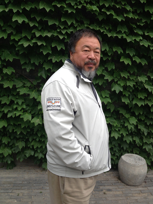Chinese artist Ai Weiwei. Image courtesy of New Mexico Arts, Department of Cultural Affairs.