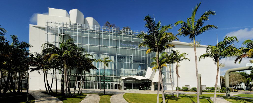 Frank Gehry-designed New World Center in Miami Beach, home of the New World Symphony. Photo by Alexf, licensed under the Creative Commons Attribution-Share Alike 3.0 Unported license.