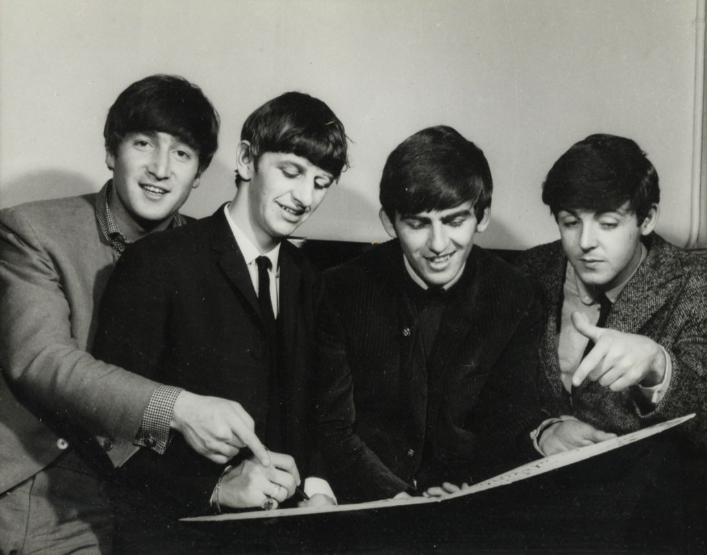 The Beatles by Harry Goodwin. Photo Ewbank's auctioneers