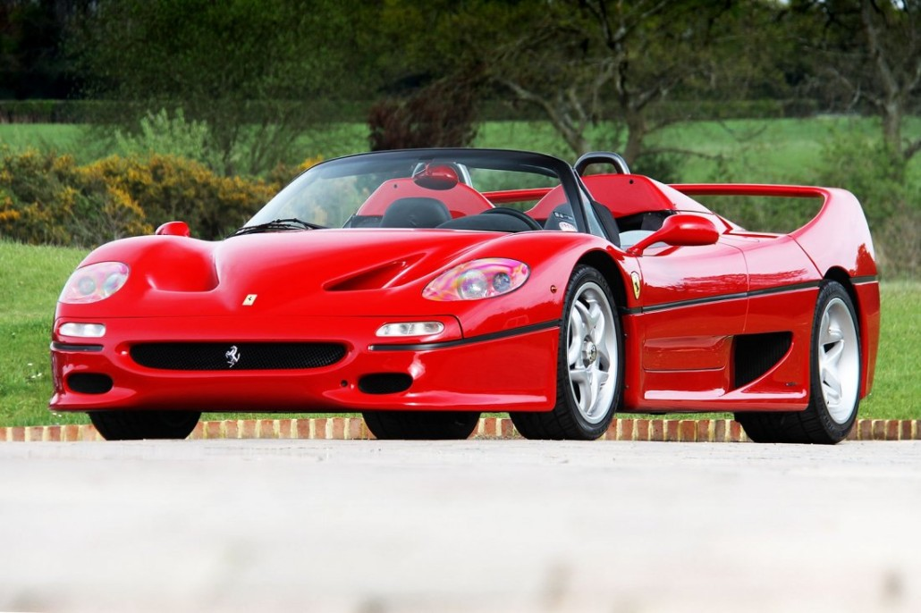 1997 Ferrari F50. Image courtesy of LiveAuctioneers archive and Silverstone Auctions