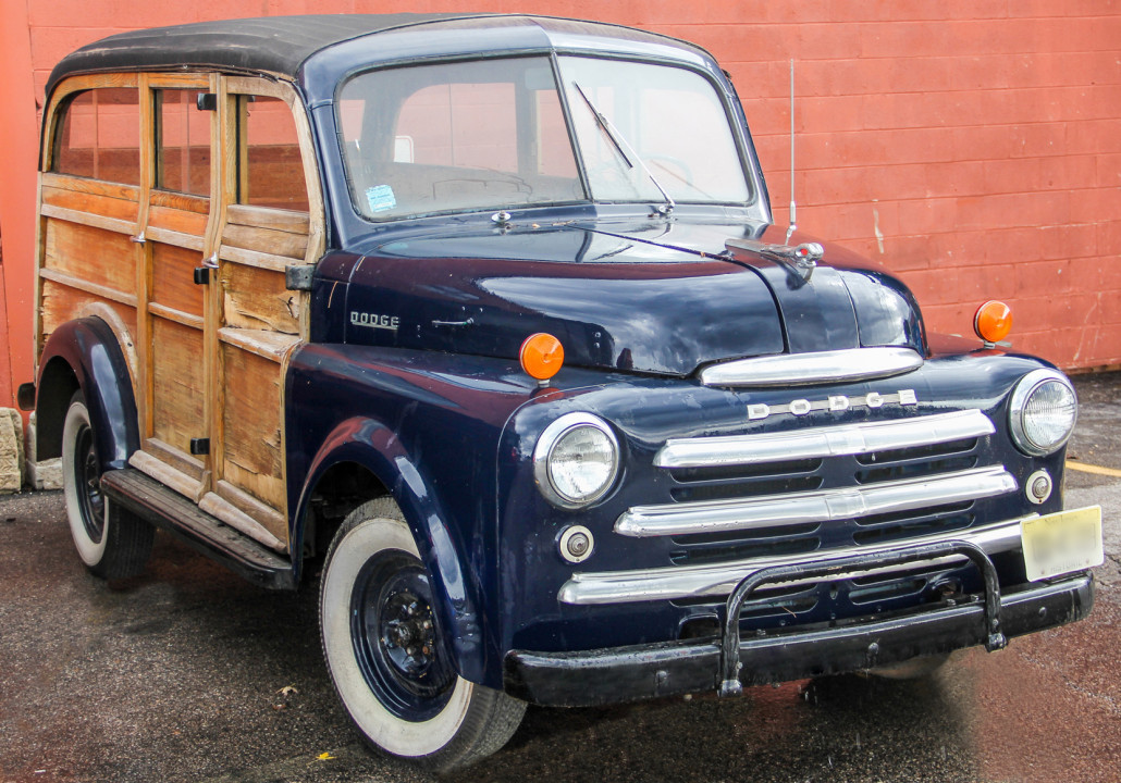 Lot 4 – 1949 Dodge B-2-B Cantrell-type Highland Woody. Estimate: $10,000-$15,000. Material Culture image