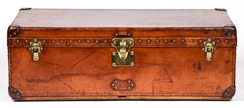 Lot 267 – Louis Vuitton cabin trunk. Estimate: $8,000-$10,000. Material Culture image