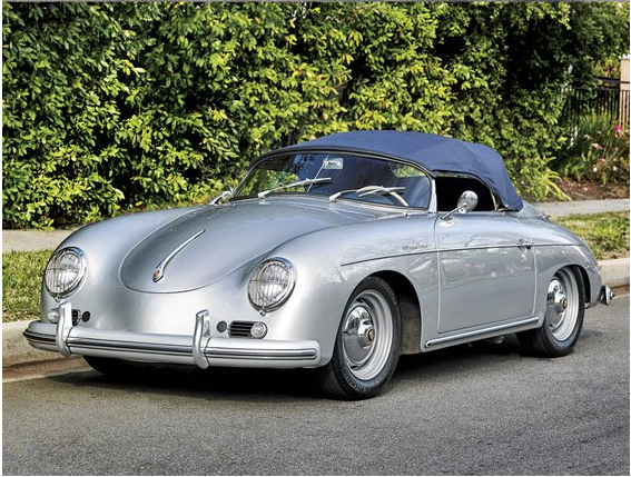1958 Porsche 356A/1600 Speedster, est. $275,000-$375,000