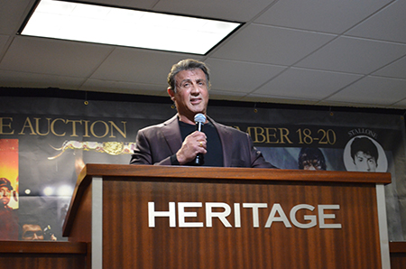 Rocky,' 'Rambo' props land 1-2 punch at $3M Heritage auction