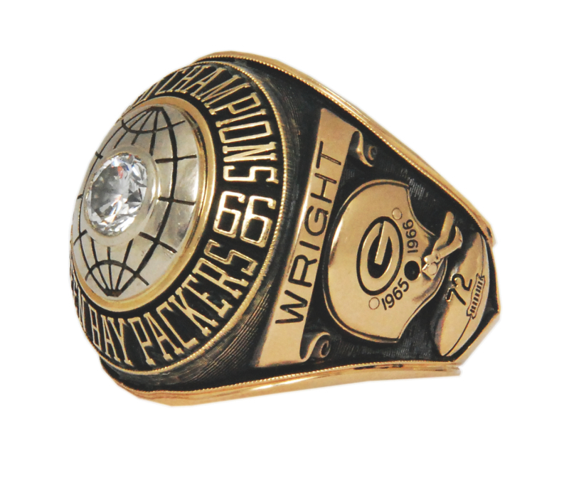 Steve Wright Super Bowl ring sold in 2011 by Grey Flannel Auctions for $73,409. Image courtesy of Grey Flannel Auctions