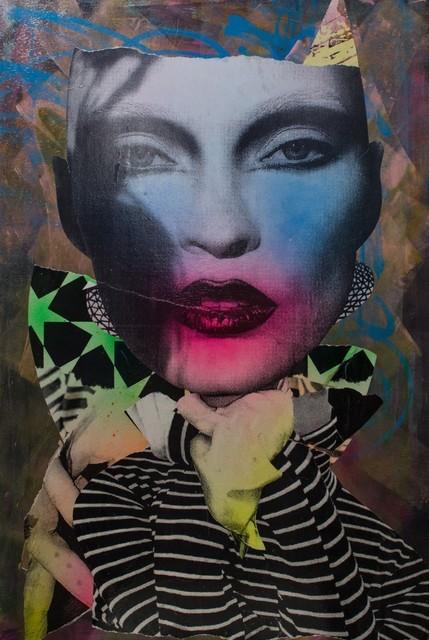 Dain, 'Twisted Star Spangle,' photo via Avant Gallery