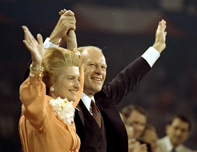 President and Mrs. Ford. Image courtesy Gerald R. Ford Presidential Library & Museum