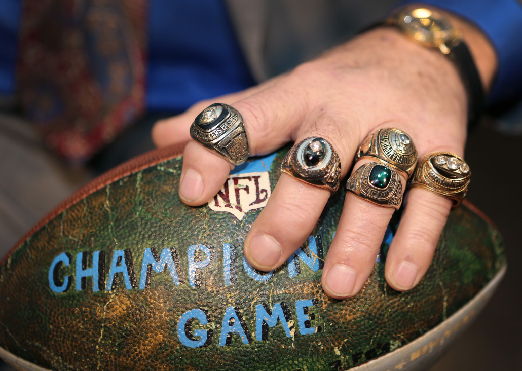 Few can rival Green Bay Packers great Jerry Kramer when it comes to championship rings. His career memorabilia collection will be auctioned by Heritage on Feb. 20, 2016, with absentee and Internet live bidding through LiveAuctioneers.com.