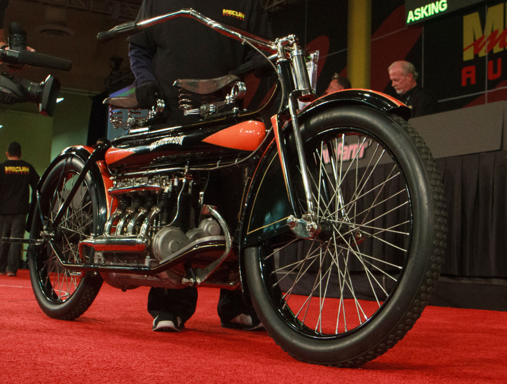 Mecum motorcycle auction rallies to record $9M in sales