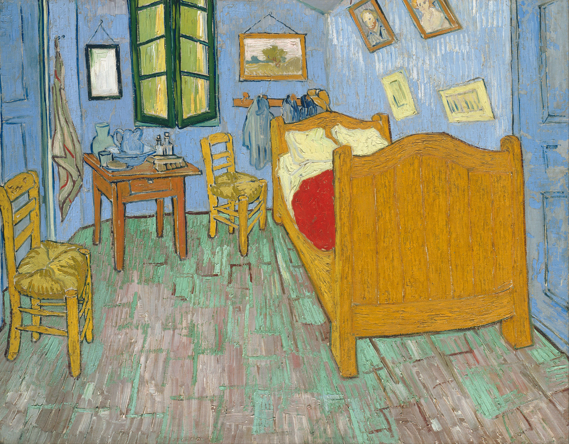 Vincent Van Gogh, U0027Bedroom In Arles,u0027 Second Version, September 1889.
