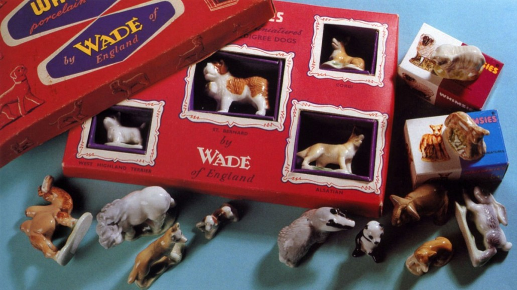 Boxed sets of five like this from the 1950s are prized by collectors who are prepared to pay upward of £200 ($300) for mint examples. Photo author