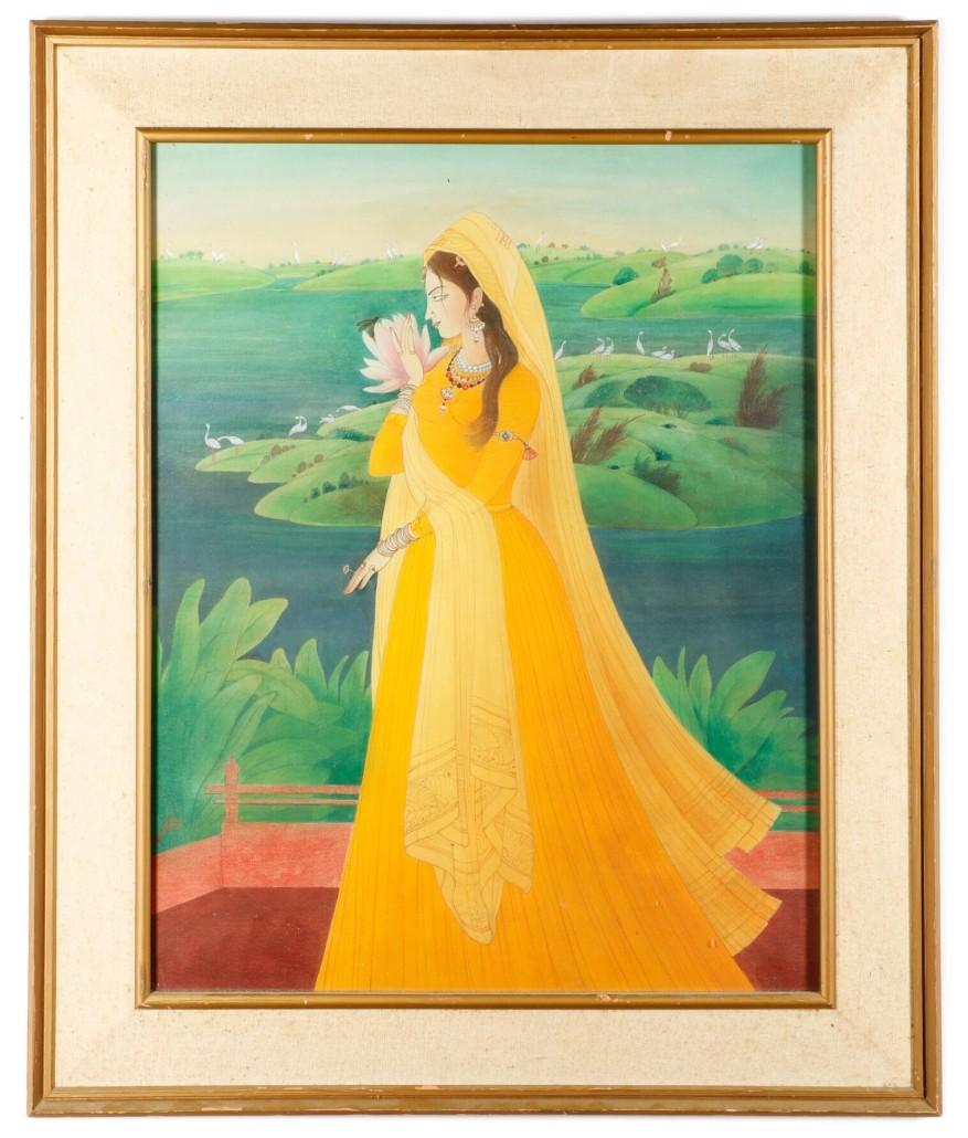 Abdur Chughtai painting