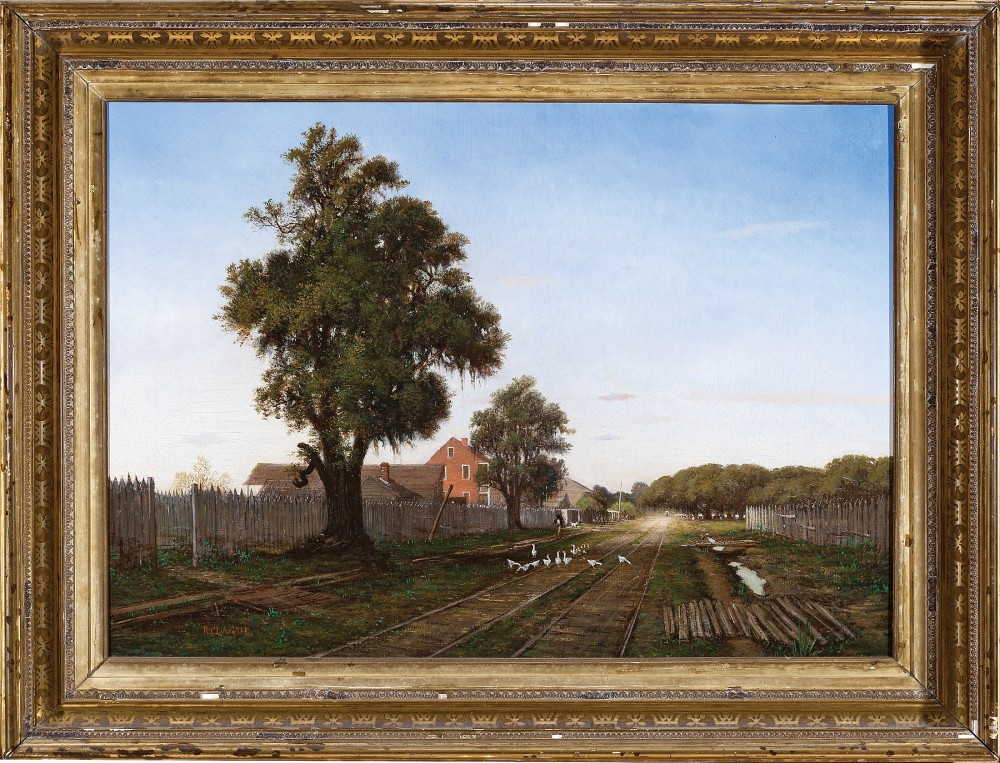 Richard Clague painting